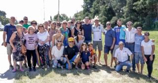 Proeza de Mariano Mortara: Cruzó a nado el Río de la Plata