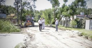 Intervención en Barrio Mangrullo con fondos genuinos de la Municipalidad