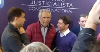 Ricardo Casi acudió a reunión en el PJ nacional
