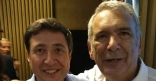 Ricardo Casi junto al ministro Daniel Arroyo