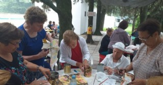Actividades de los Abuelos en la colonia de verano