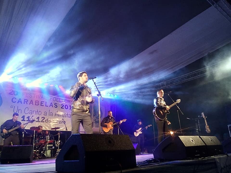 Exitosa fue la apertura del 20º Festival Folklórico de Carabelas, un canto a la amistad.