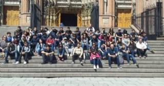 Alumnos locales visitaron La Plata