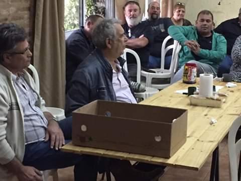 En la jornada de este sábado 18 de mayo se realizó una reunión en la sede del Partido Justicialista.