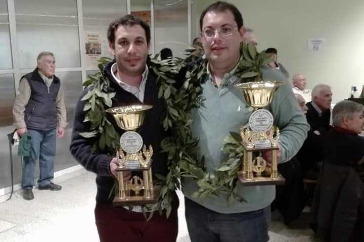 Los hermanos García campeones en regularidad
