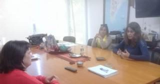 """Integrantes de la Cooperadora del Jardín """"Personitas"""" acudieron a la Municipalidad"""