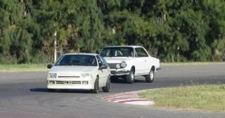 Rally Autoclásica Pergamino en Pearson