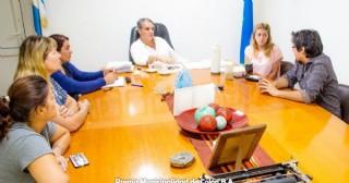 Granja Va Por Vos con el intendente interino Pablo Pino