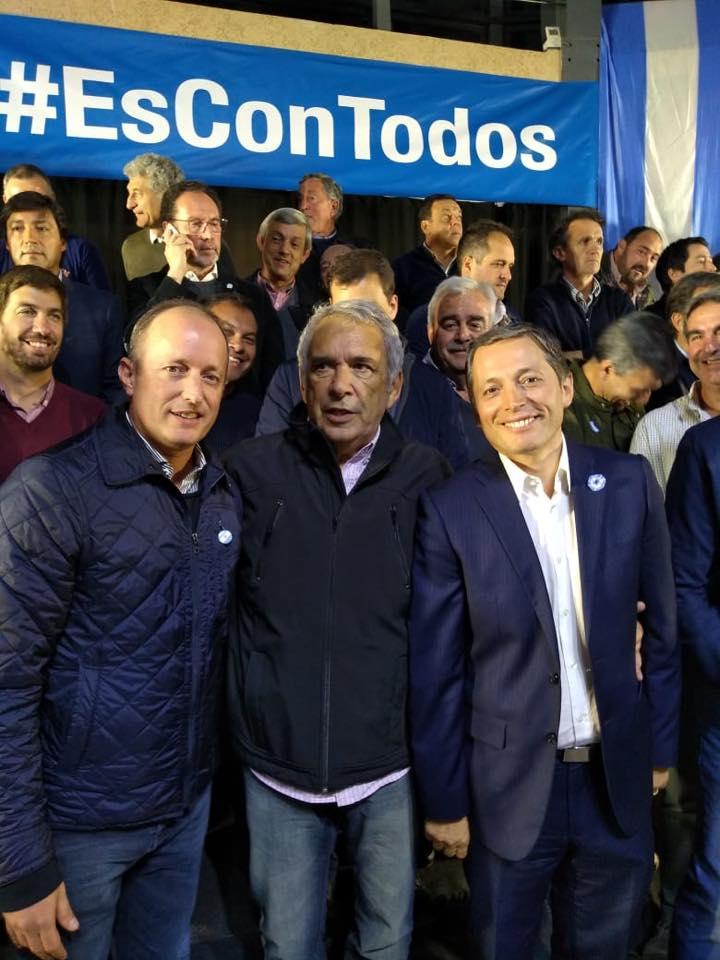 Este martes 21 de mayo el intendente fue Ricardo Casi  uno de los 45 mandatarios que estuvieron presentes en Cañuelas, más precisamente en el Parque Industrial, en el marco del plenario del peronismo bonaerense.