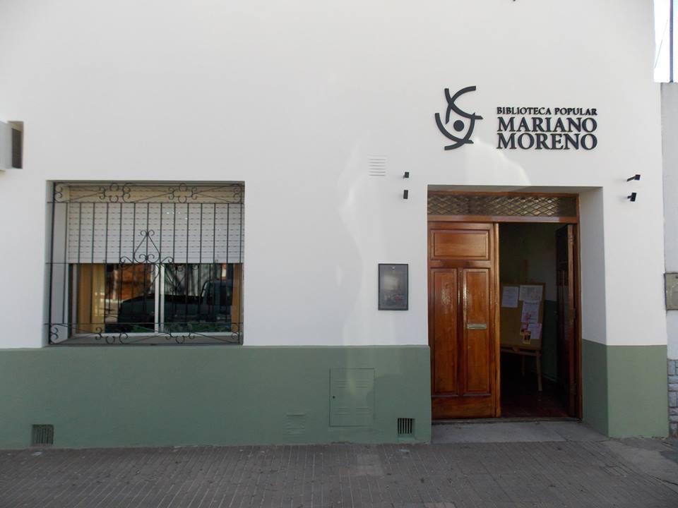 Este viernes 5 de abril, a las 20 horas, tendrá lugar la reinauguración de la sala de teatro de la Biblioteca Popular Mariano Moreno.