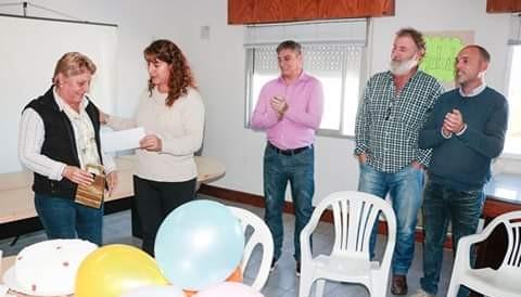 Luego de 33 años de trabajo en el Hospital local, la empleada municipal Mercedes Ibarra accedió a la jubilación.