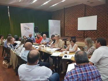 El director de Bromatología y Control Ambiental de la Municipalidad de Colón, Javier Fina, participó el viernes 15 de marzo de una importante reunión de áreas de Bromatología de la provincia de Buenos Aires.