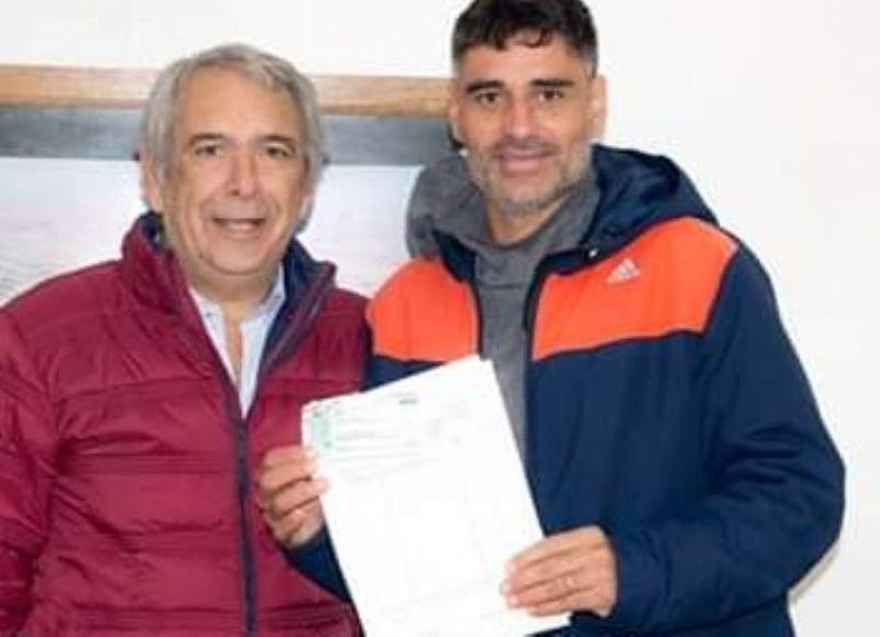 Ricardo Casi y Luciano Vignaroli.