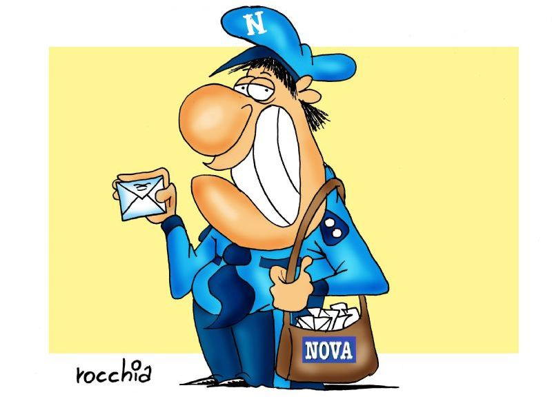 El cartero de NOVA. (Dibujo: NOVA)