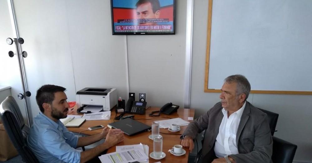 Leandro Balasini y Ricardo Casi.