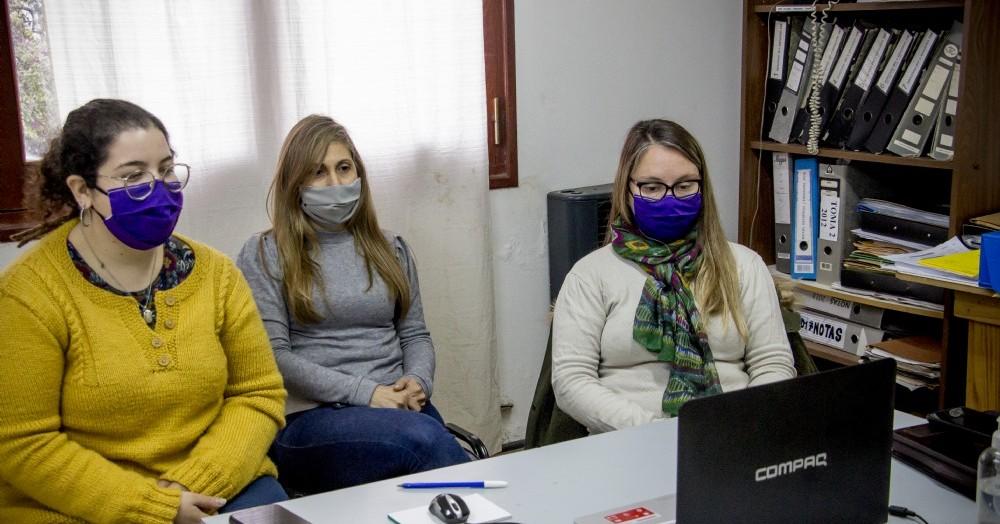 El Equipo Interdisciplinario de la Dirección de Género de la Municipalidad de Colón, participó de una reunión plenaria virtual del Consejo de Articulación de Políticas de Género y Diversidad Sexual.