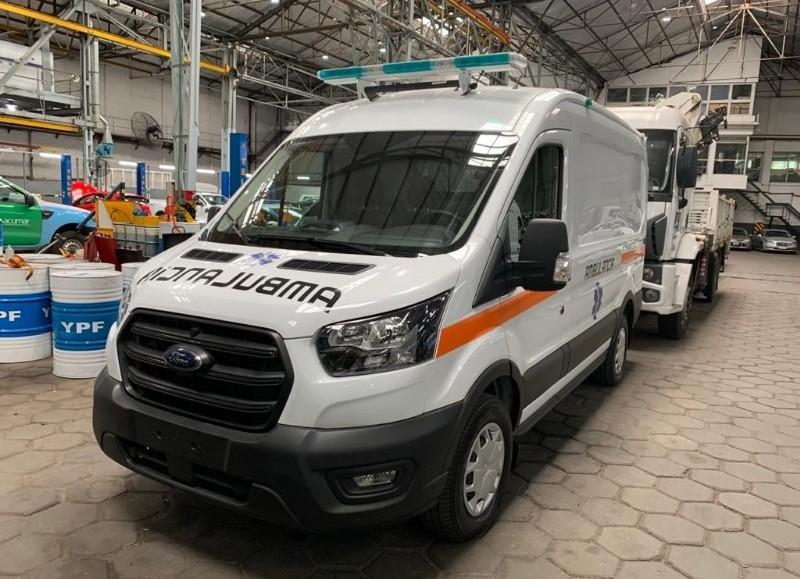 La Municipalidad de Colón informó la llegada de una ambulancia equipada para el Hospital Municipal a través del sistema de leasing.