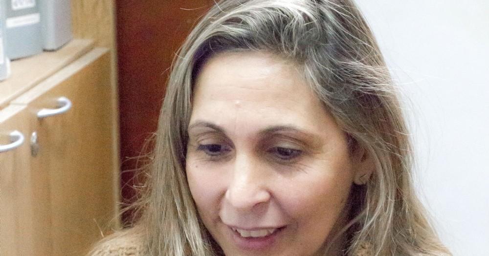 Florencia Palomo, directora de Género y Fortalecimiento Familiar de la Municipalidad.