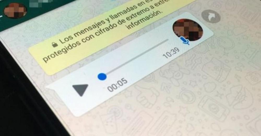 El mensaje se viralizó rápidamente por medio de los servicios de mensajería instantánea.