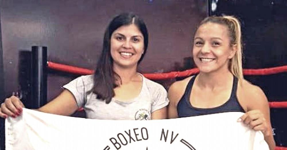 Nayla Mascheroni y Yesica Bopp.