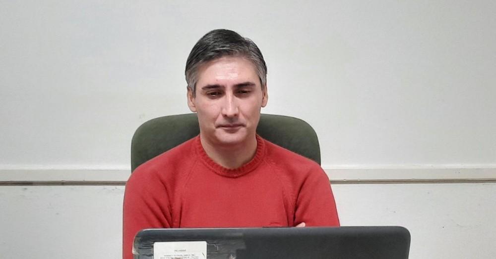 El encargado del Presupuesto Municipal, Diego Bastianelli.