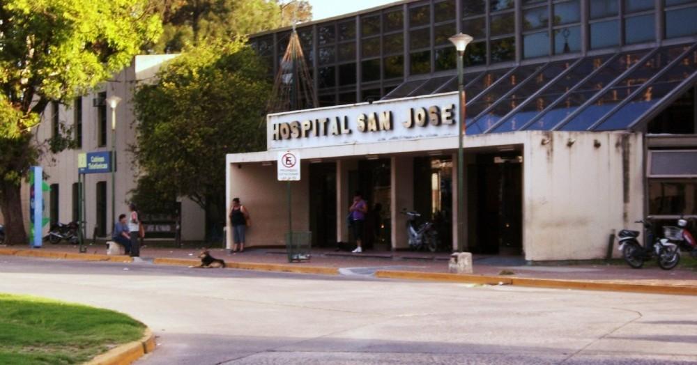 El joven fue derivado de urgencia la hospital San José de Pergamino.
