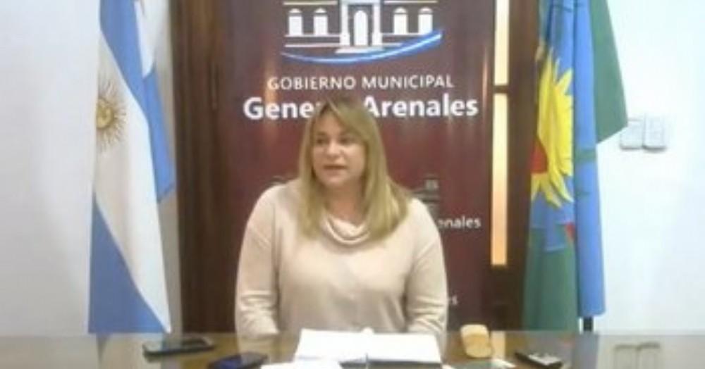 La jefa comunal, Erica Revilla.