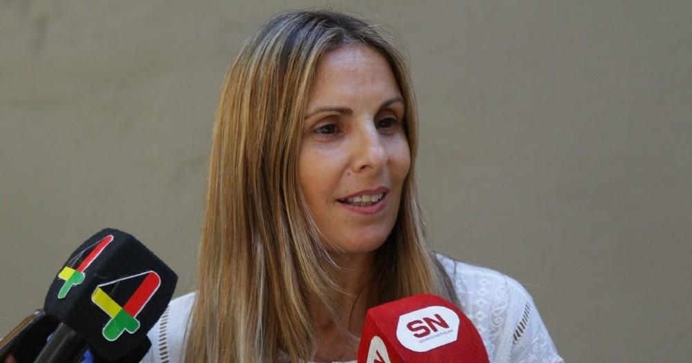 La secretaria de Salud de la vecina ciudad, María Martha Perretta