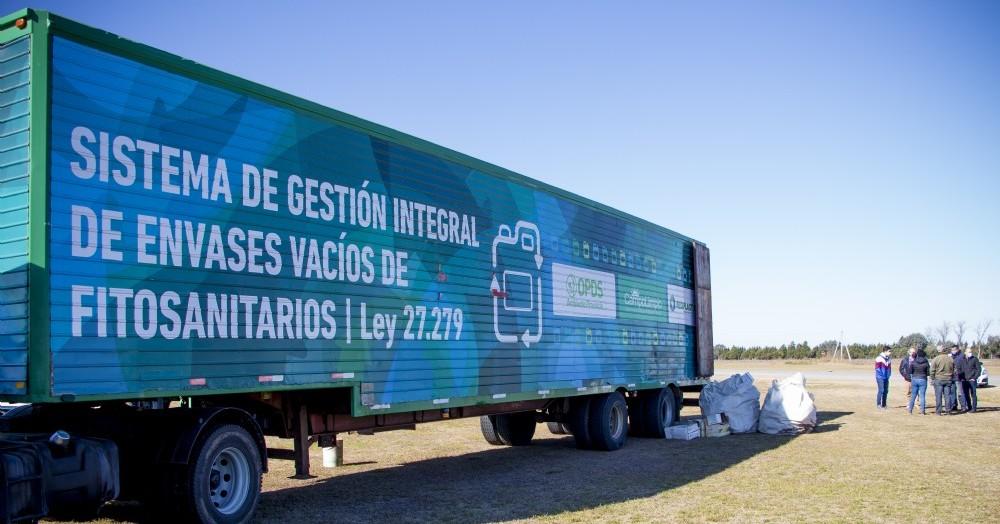 Este miércoles la Dirección de Agroquímicos Municipal, en conjunto con Campo Limpio, llevó a cabo la jornada de recepción de envases vacíos de fitosanitarios.