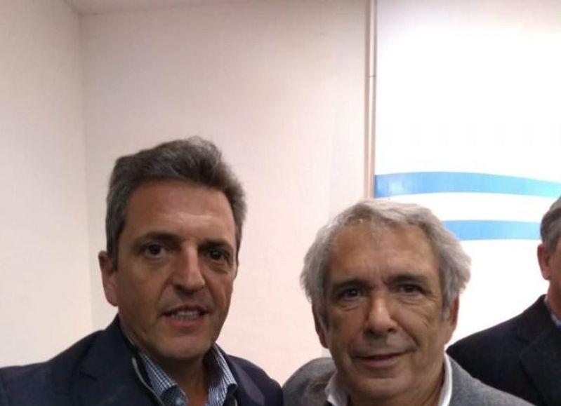 Sergio Massa y Ricardo Casi.