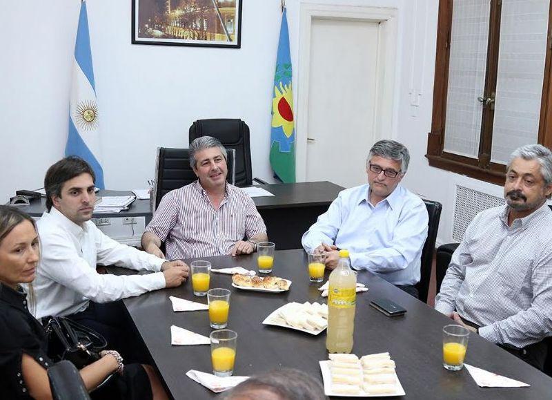 """""""Nuestra intención es estar presentes, por eso recorreremos tanto la Provincia"""", dijo Villegas."""