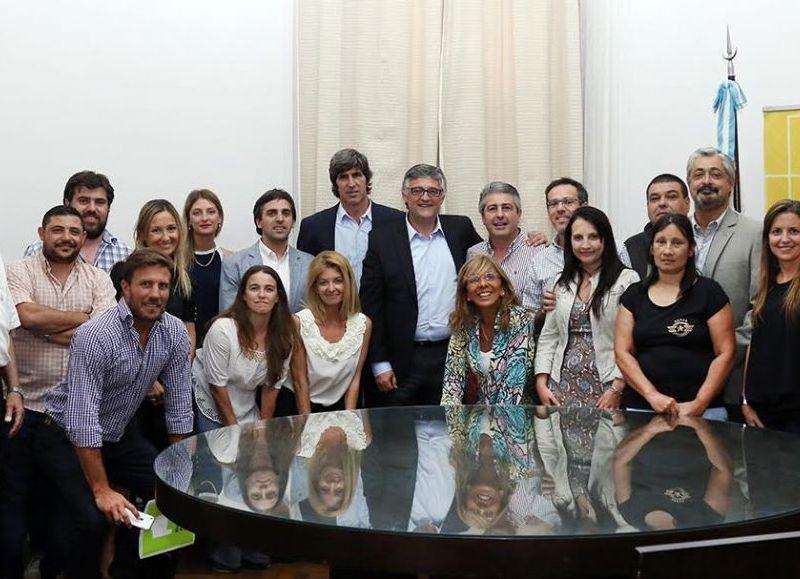 Las autoridades provinciales participaron de un encuentro con representantes del Colegio de Abogados de la ciudad.