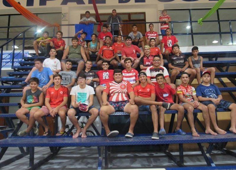 Actividades en la Villa Deportiva.