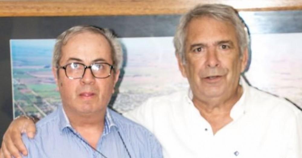 Junto a Ricardo Casi.