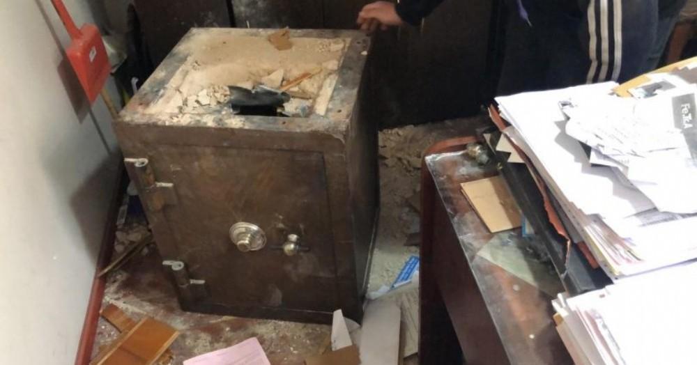 Los cacos provocaron desorden llevándose pertenencias del dueño de la propiedad.