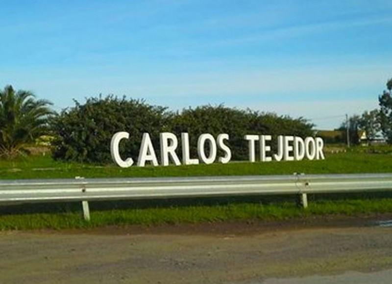 Estaba en Carlos Tejedor.