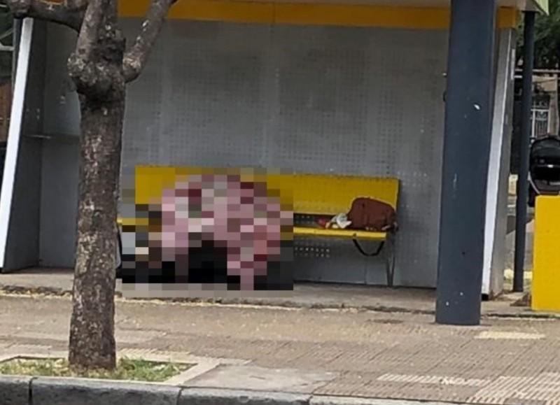 Estaba en un banco (foto: El Tiempo).
