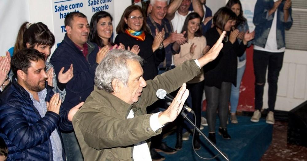 Ricardo Casi va por la reelección.