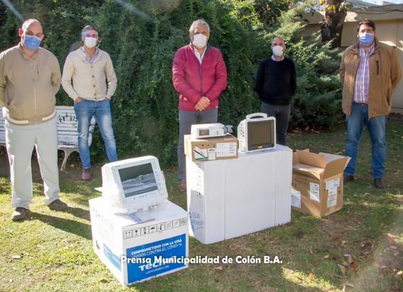 La aparatología ha sido enviada por Región Sanitaria IV, proveniente del Ministerio de Salud de la provincia de Buenos Aires.