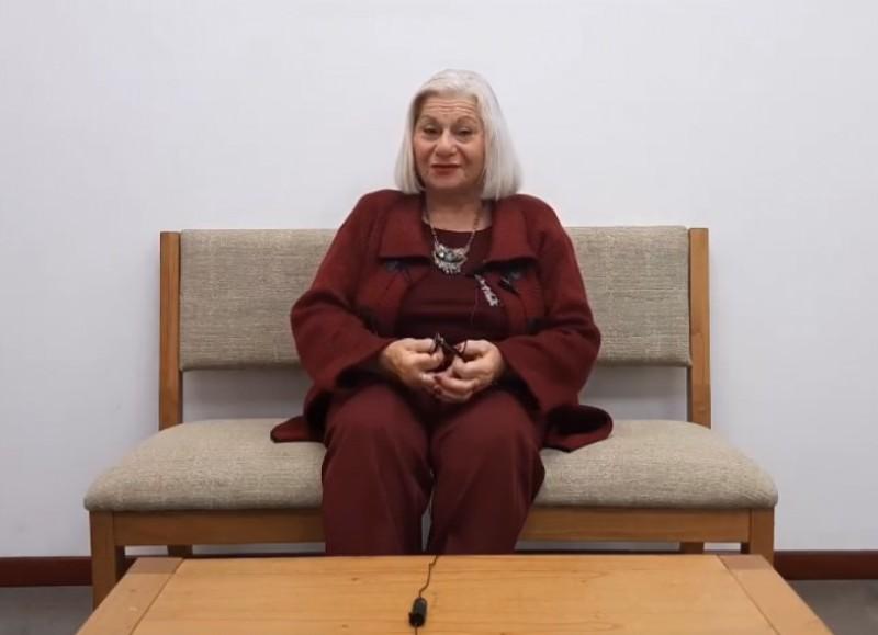 María Elena Bazan fue entrevistada por el Polo Cultural de la Dirección de Cultura de la Municipalidad.