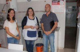 La visita de Rocío Martínez y Gonzalo Villalonga.