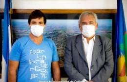 Asumió como director de Tránsito Adrián Martínez