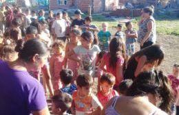 Barrios de Pie organizó una Jornada de Reyes en Rivadavia