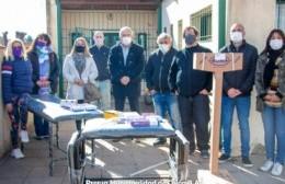 La Municipalidad entregó equipamiento para la sala sanitaria del barrio Rivadavia