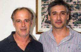 Claudio Montanari y Diego Bastianelli.