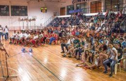 Colón premia a sus deportistas con un reconocimiento y festejo