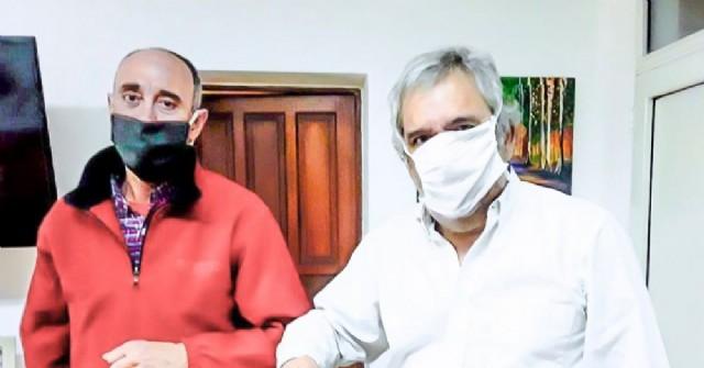 El intendente Casi se reunió con Guillermo Alonso