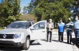 La Municipalidad hizo entrega de una unidad 0 kilómetros para circular en la calle y controlar el tránsito