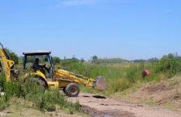 Comenzaron las obras de hábitat en los barrios Güemes, La Lomita y Tupac Amaru