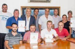 Presencia de las cinco instituciones de fútbol.